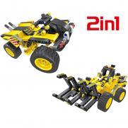 Конструктор 2 в 1 (трактор и багги) QiHui Technics