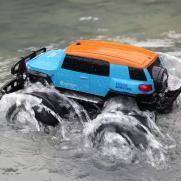 Радиоуправляемая машина амфибия джип Toyota 1:10 4WD (влагозащита, 37 см)