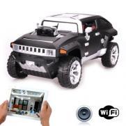 Радиоуправляемый джип с КАМЕРОЙ Wi-Fi Hummer (управление с телефона, 34 см)