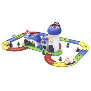 Детский игровой набор автотрек-конструктор Больница