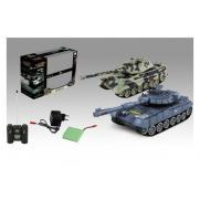 Танковый бой на радиоуправлении 1:28 T90 и KingTiger (2 танка)