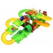 Детский автотрек-железная дорога Happy Commander
