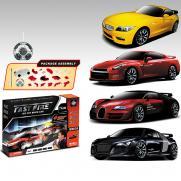Радиоуправляемый конструктор - машины BMW, Nissan, Bugatti Veyron и Audi R8 - 2028-4F01B