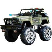 Радиоуправляемый военный джип Land Battles 1:10 (40 см, свет, звук, 20 км/ч)