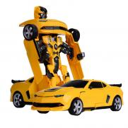 Радиоуправляемый робот-трансформер Бамблби/Bumblebee (свет, звук, 28 см)