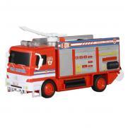 Пожарная машина с мыльными пузырями радиоуправляемая R206 (30 см, звук)