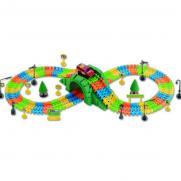 Автотрек детский Dream Track 3800-2Y (1 машинка, 169 деталей, дор. знаки)