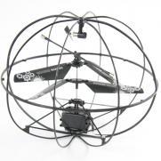 Радиоуправляемый летающий шар Robotic (ударопрочный, свет, 20 см)