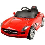 Электромобиль для детей радиоуправляемый Mercedes-Benz SLS AMG красный (звук, свет, 110 см)