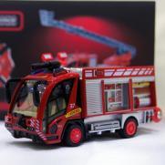 Радиоуправляемая пожарная машина City Hero 1:87 (12 см, свет, звук)