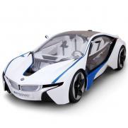 Машина радиоуправляемая BMW I8 VED 1:14 (свет, 34 см, аккум., до 30 м, открываются двери)
