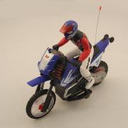 Радиоуправляемый мотоцикл Special Сross-Сountry 1:10 с гироскопом (20 км/ч, 37 см)
