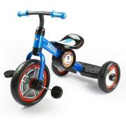 """Детский трехколесный велосипед 10"""" Rastar (синий, от 2 лет, 70 см, лицензия BMW)"""
