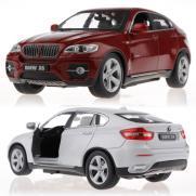 Радиоуправляемая машина BMW X6 масштаб 1:24 (металлическая, 20 см, открыв. двери)
