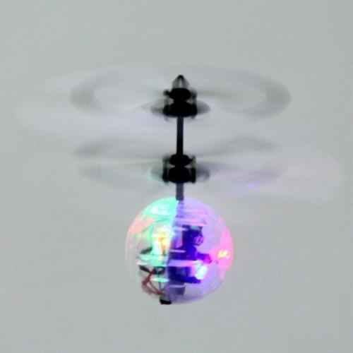 Летающий шар на ИК-управлении (свет, звук, 14 см)