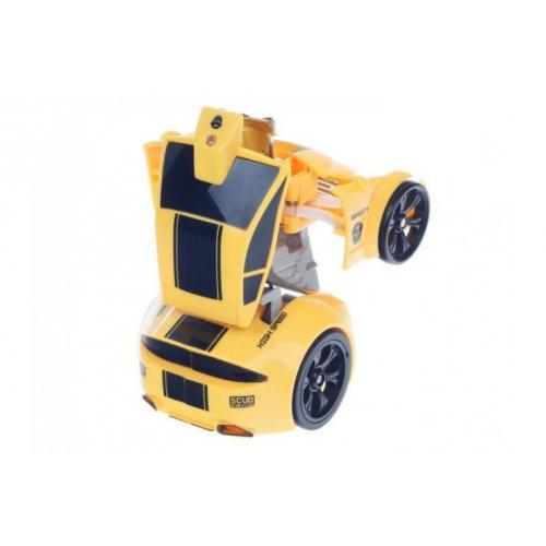 Игрушка машинка трансформер радиоуправляемый Happy Cow (11 см)