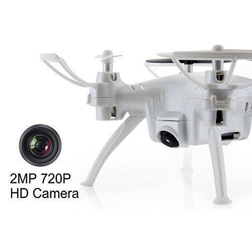 Мини квадрокоптер с камерой Syma X52C (10 см, видео на карту памяти)