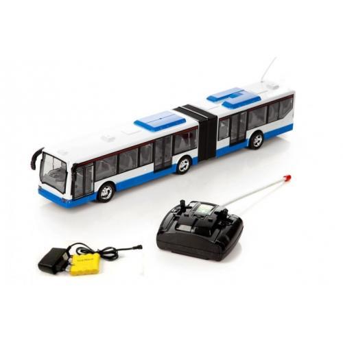 Автобус радиоуправляемый (пульт, длина 38 см)