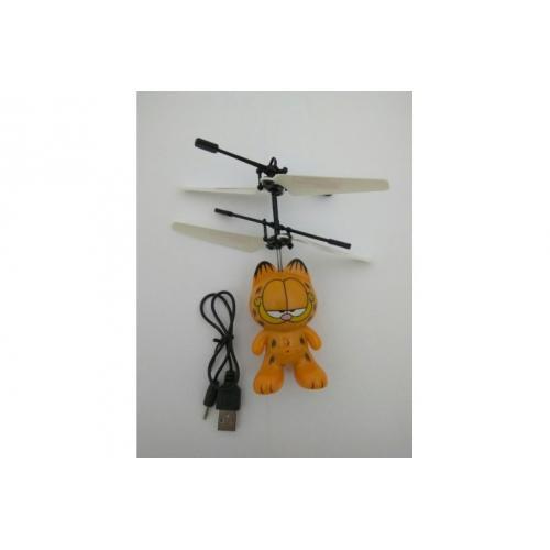 Летающая игрушка кот Гарфилд (15 см)