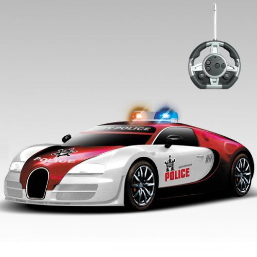 """Радиоуправляемый конструктор - машинка Bugatti Veyron """"Полиция"""""""