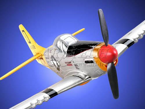 Самолет радиоуправляемый Art-tech Mini Mustang 2.4G 21133 (размах 75 см)