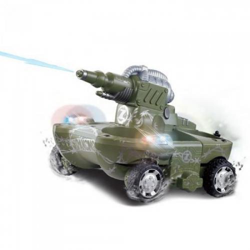 Радиоуправляемый танк-амфибия (стреляет водой, вездеход, 24 см)