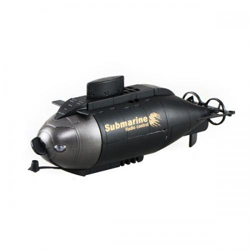 Подводная лодка радиоуправляемая Black Submarine (мини, 10 см, аккумулятор)