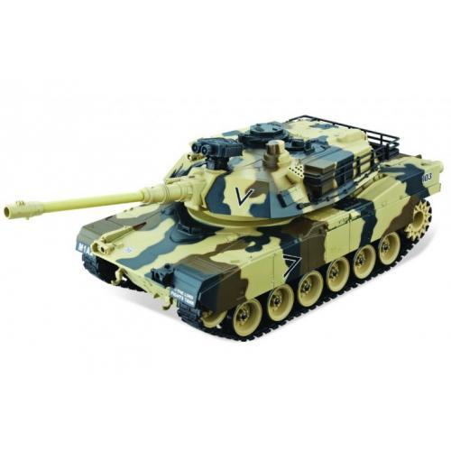 Танк на радиоуправлении M1A2 Abrams Yellow 1:20 4101-5 (стреляет шариками, 35 см)