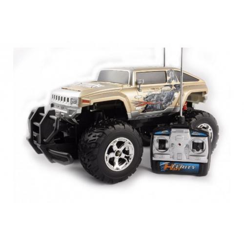 Джип радиоуправляемый Hummer/Хаммер 1:12 (25 км/ч, 38 см, свет, до 70 м)