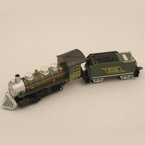 Детская железная дорога (14 эл-тов, свет, звук, на батарейках)
