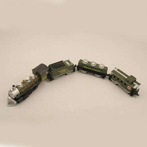 Детская железная дорога (21 эл-т, свет, звук, на батарейках)