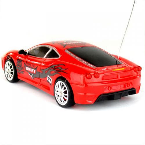 Мини-машинка для дрифта радиоуправляемая Ferrari F430 GT (полный привод, 15 см)