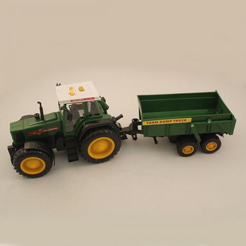 Большой радиоуправляемый трактор с прицепом F975-1 (10 км/ч, 73 см)