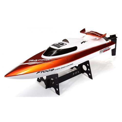 Катер на радиоуправлении High Speed Boat FT009 2.4GHz (30 км/ч, задний ход, 46 см)