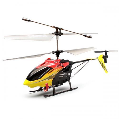 Радиоуправляемый вертолет Syma S39 2.4G (36 см, до 30 м, подсветка, ЖК-пульт)