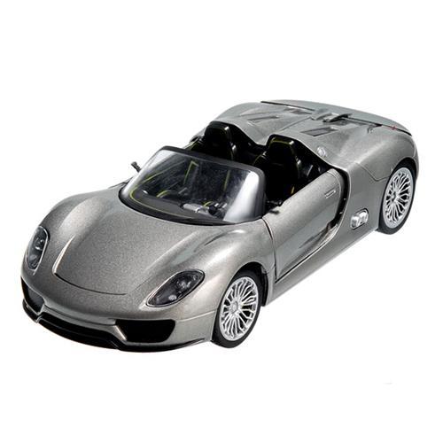 Радиоуправляемая машинка Porsche (Порше) 918 масштаб 1:24 (металлическая, 20 см)
