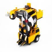 Радиоуправляемый трансформер робот машина джип (35 см, свет, звук)