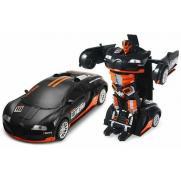 Машина робот-трансформер на радиоуправлении Bugatti (29 см, свет, звук)