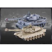 Танковый бой Тигр и Абрамс 2.4G (2 танка с пультами)
