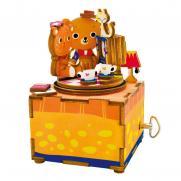 Деревянный конструктор - музыкальная шкатулка Robotime
