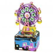 """Деревянный 3D конструктор - музыкальная шкатулка Robotime """"Ferris Wheel"""""""