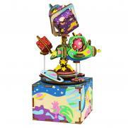 """Деревянный 3D конструктор - музыкальная шкатулка Robotime """"The Universe"""""""