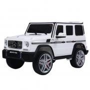 Радиоуправляемый детский электромобиль Mercedes Benz G65 White 12V 2.4G