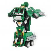 Радиоуправляемый робот трансформер Военный грузовик 1:14 (36 см)