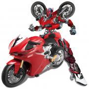 Радиоуправляемый мотоцикл - трансформер 1:14