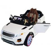 Детский электромобиль Range Rover Luxury White 12V 2.4G