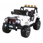 Радиоуправляемый электромобиль белый джип Wrangler 2WD 2.4G