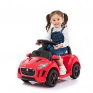Детский электромобиль-каталка Jaguar 6V 2.4G красный