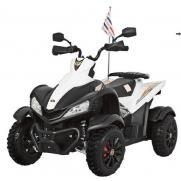 Электроквадроцикл детский Dongma ATV 12V белый