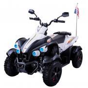 Электроквадроцикл детский DMD 12V белый с черным